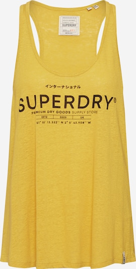 Superdry Top in gelb, Produktansicht