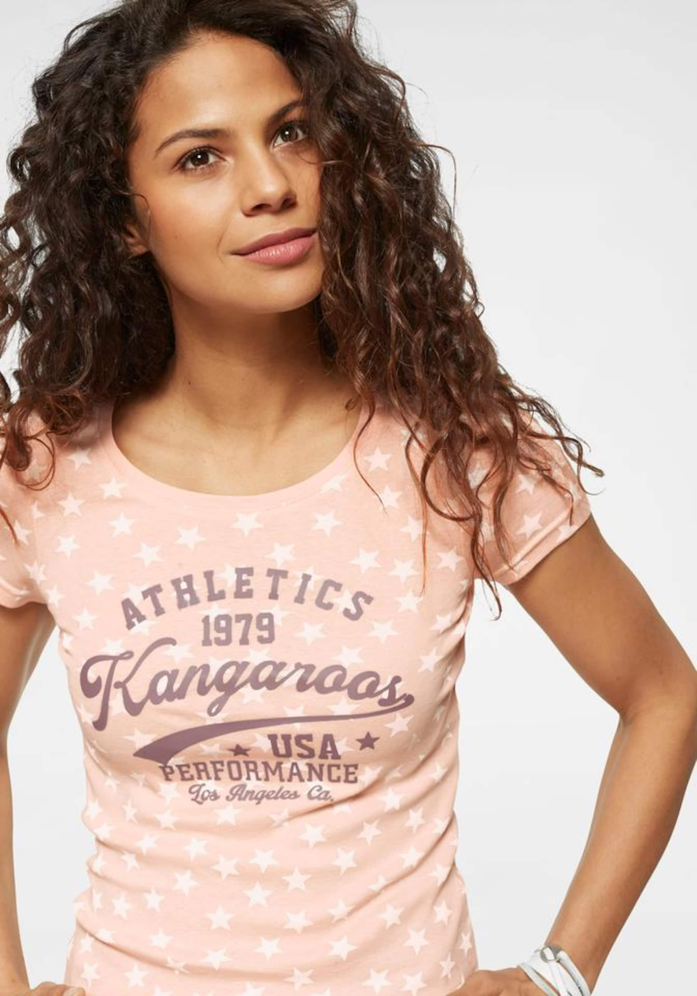 Kangaroos T shirt In PuderWeiß CBrdoeWxQ