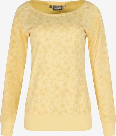"""mazine Sweater ' """"Tanami"""" ' in gelb, Produktansicht"""