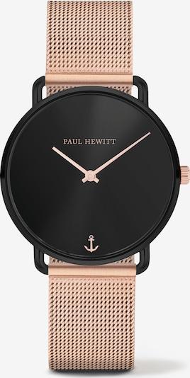 Paul Hewitt Uhr in rosegold / schwarz: Frontalansicht