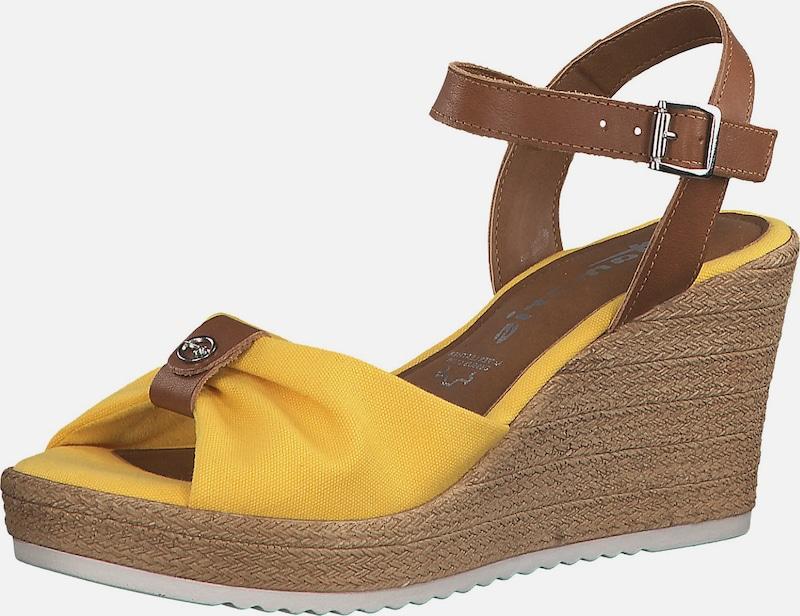 Tamaris Sandale Navy Cognac Damen Schuhe Sandalen
