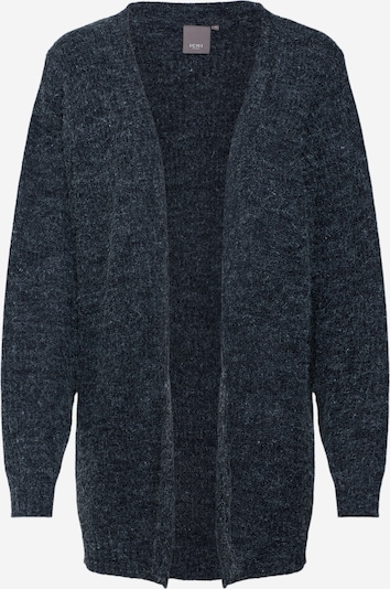 ICHI Cardigan 'NOVO' en bleu foncé, Vue avec produit