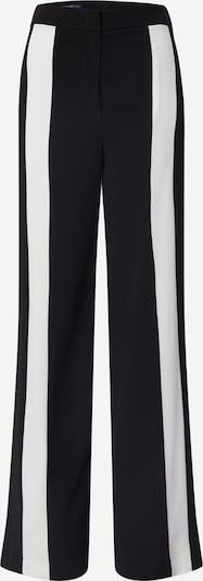 LAUREL Kalhoty - černá / bílá, Produkt