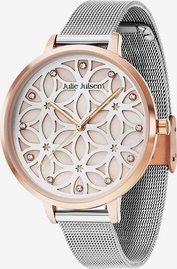 Julie Julsen Quarzuhr 'Flower of Life, JJW104RGSME' in rosegold / silber, Produktansicht
