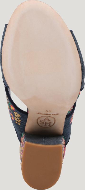 ASH Pantoletten  LOVE  mit Blockabsatz