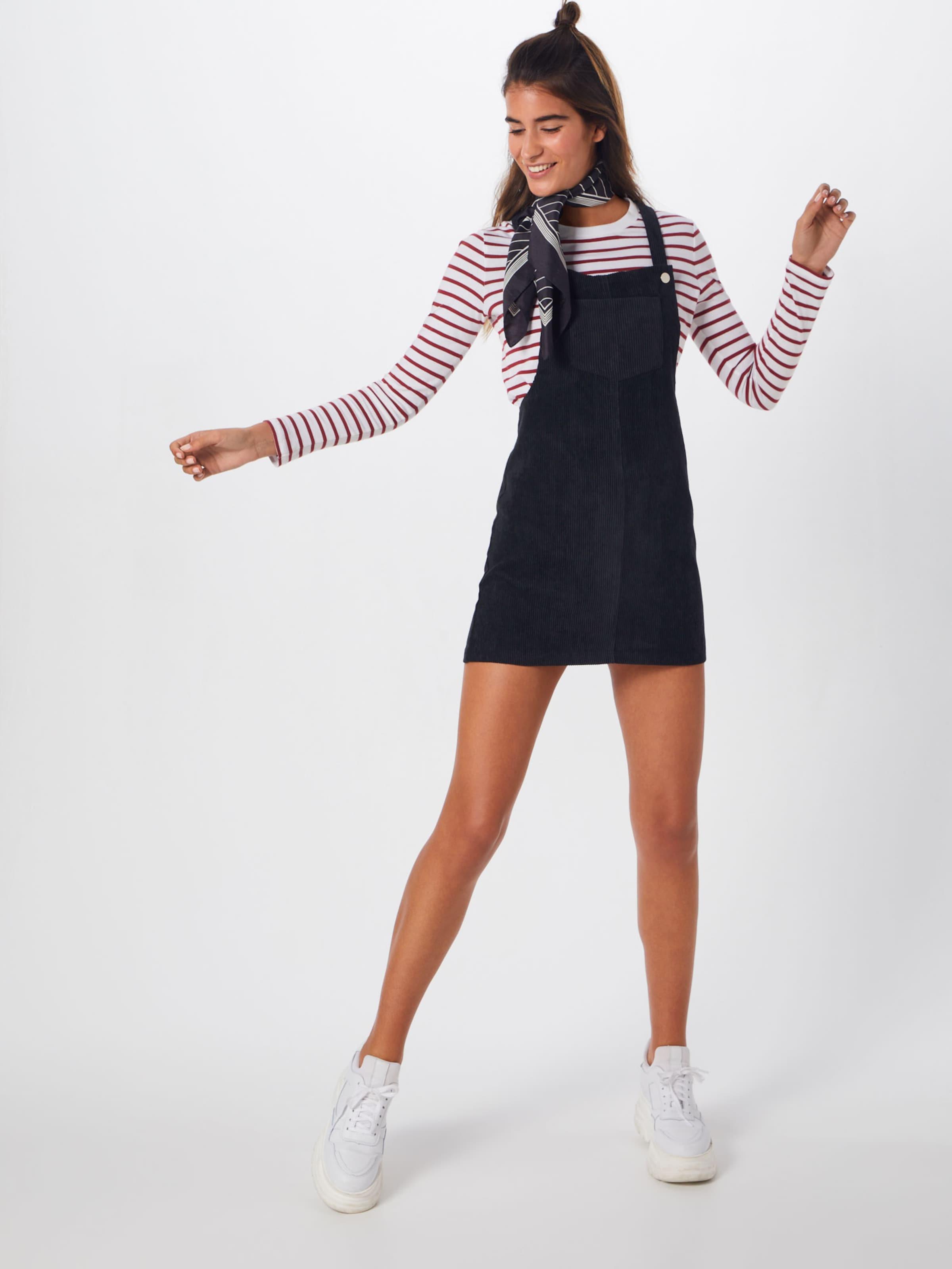 'corduroy Noir salopette Dress' Pinafore Jupe Missguided En nOkXPw80