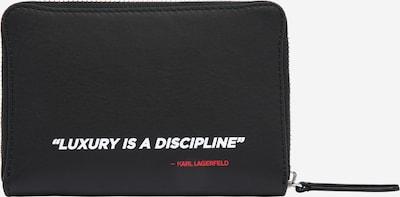 Karl Lagerfeld Portemonnee in de kleur Zwart, Productweergave