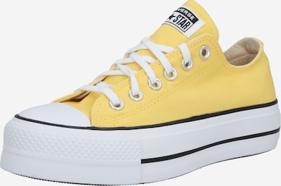 CONVERSE Sneakers laag 'Chuck Taylor All Star Lift' in de kleur Geel / Wit, Productweergave