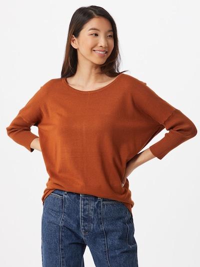 Freequent Sweter 'Jone' w kolorze karmelowym: Widok z przodu