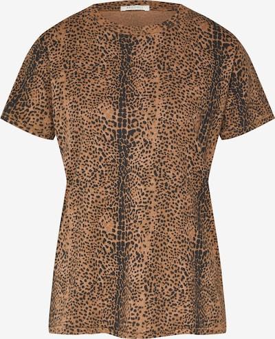 Ragdoll LA Shirt 'Easy Vintage Tee' in braun / schwarz, Produktansicht