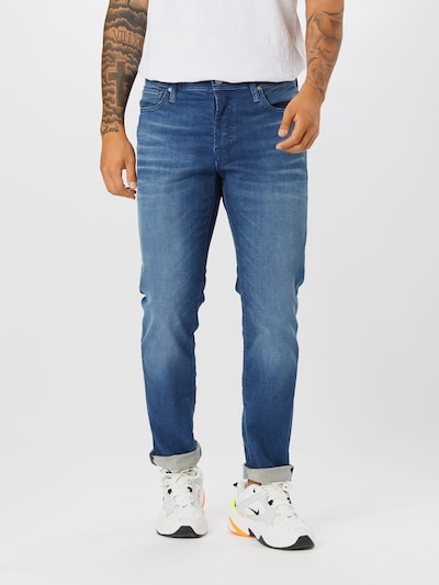 Jeans JACK & JONES di colore blu denim, Visualizzazione modelli