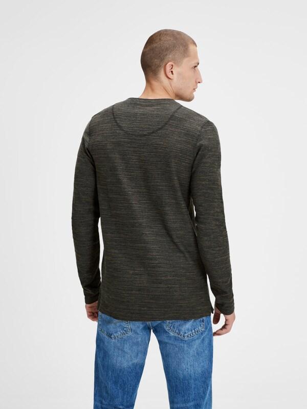 JACK & JONES T-Shirt mit langen Ärmeln
