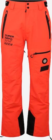 Superdry Snow Športne hlače 'PRO RACER RESCUE' | oranžna / črna barva, Prikaz izdelka