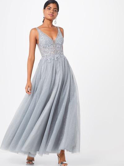 Vakarinė suknelė 'EMB TULLE' iš mascara , spalva - tamsiai pilka: Vaizdas iš priekio
