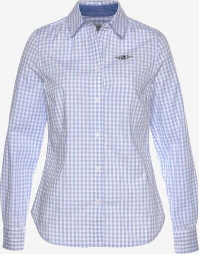 Tom Tailor Polo Team Hemdbluse in hellblau / weiß, Produktansicht