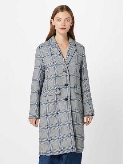 RENÉ LEZARD Mantel in dunkelblau / grau, Modelansicht