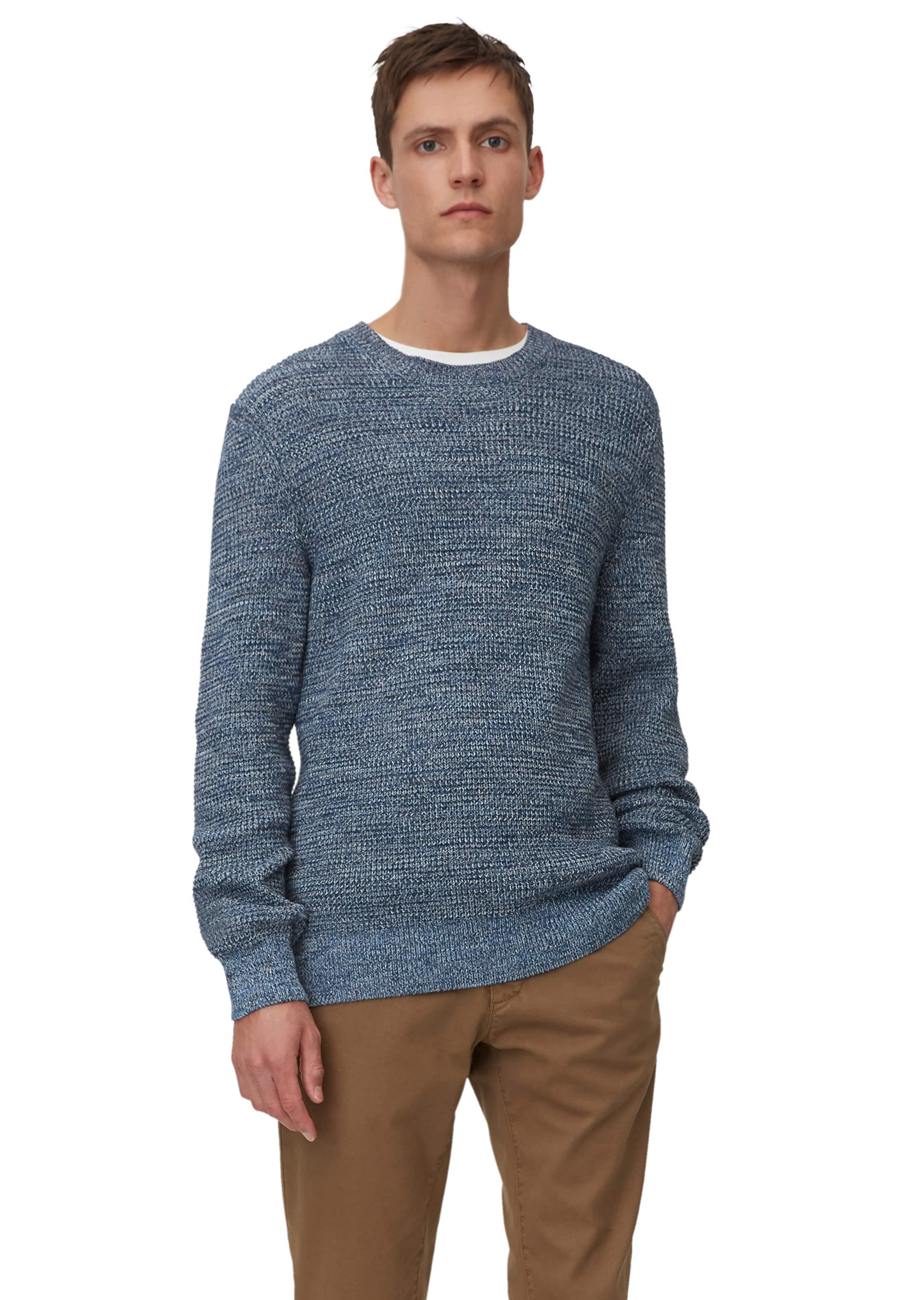Marc O'Polo Pullover in blaumeliert Textil 7325864588833