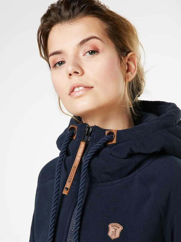 Naketano Sweatshirt Jacket In Fleece Gigi Meroni