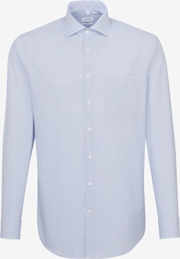 SEIDENSTICKER Business Hemd ' Regular ' in blau / weiß: Frontalansicht