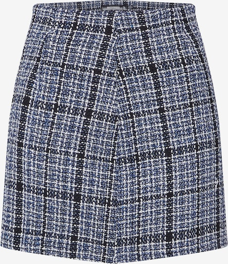 Missguided Rock 'Boucle Check Mini Skirt' in blau, Produktansicht