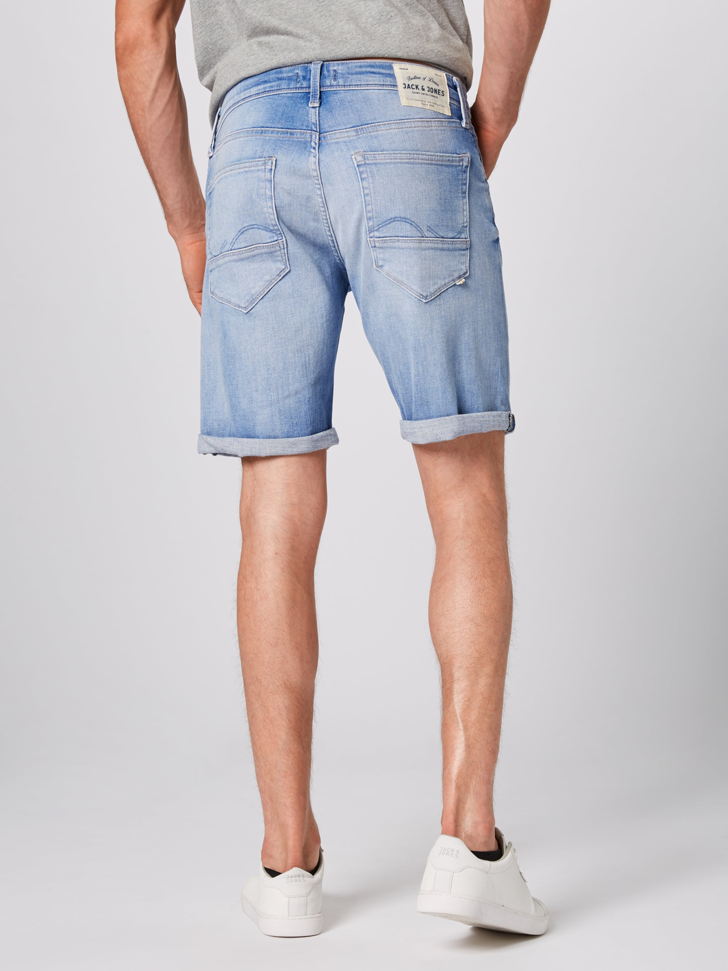 Jeans 'irick In Jones Jackamp; Jjfox' Blue Denim ZkPXiu