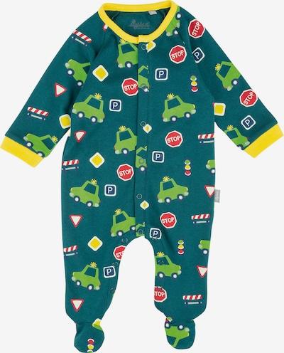 SIGIKID Schlafanzug in gelb / grün, Produktansicht