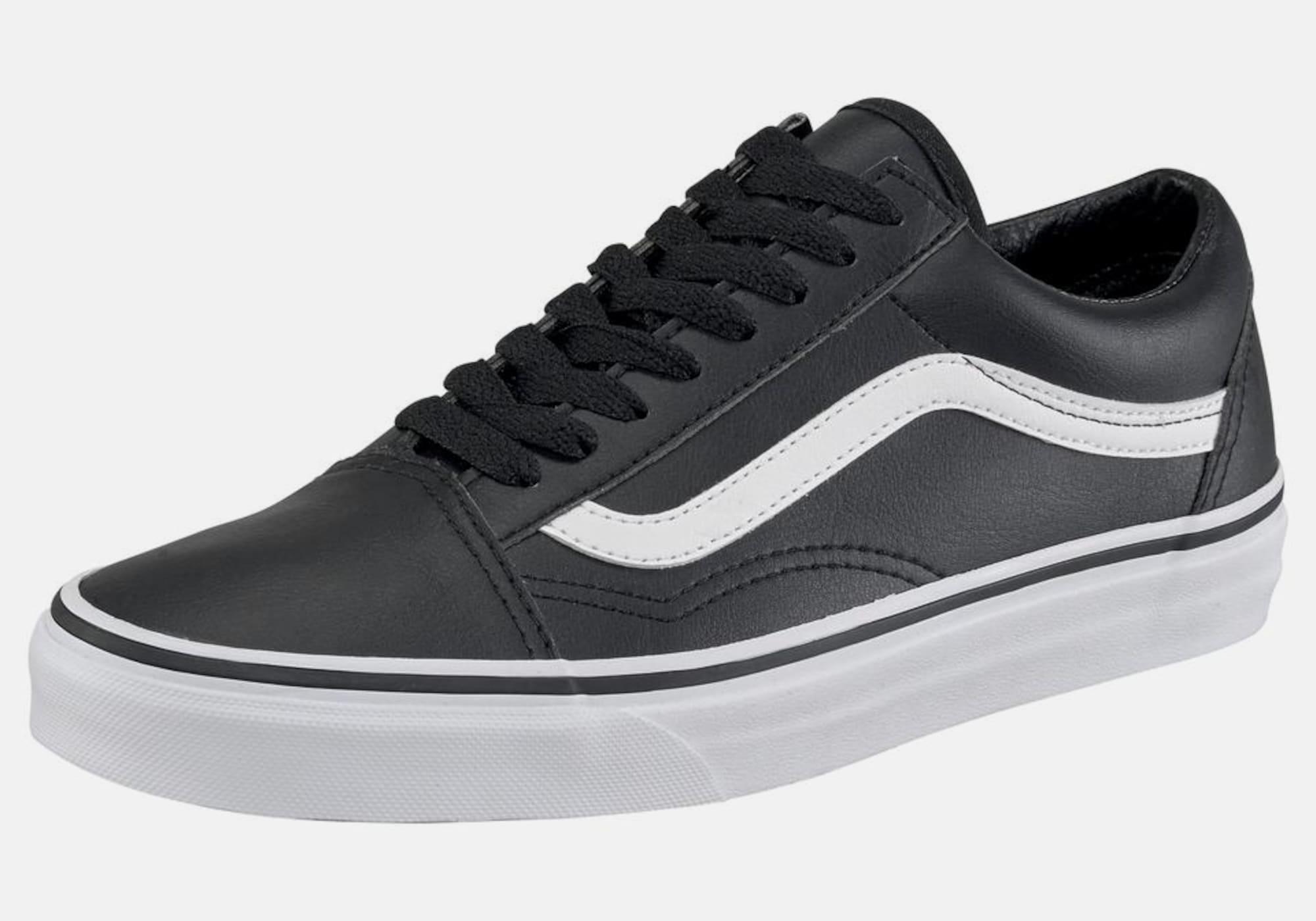 vans sneaker 39 old skool leather u 39 in schwarz about you. Black Bedroom Furniture Sets. Home Design Ideas