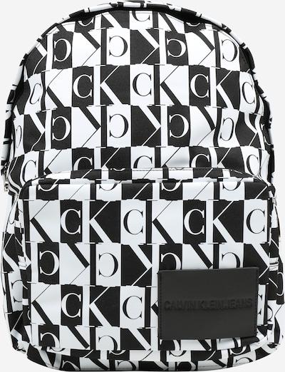 Calvin Klein Jeans Раница 'ESSENTIALS' в черно / бяло, Преглед на продукта