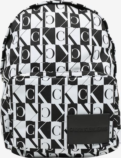Calvin Klein Jeans Rucksack 'ESSENTIALS PRINT CP BP 45' in schwarz / weiß, Produktansicht