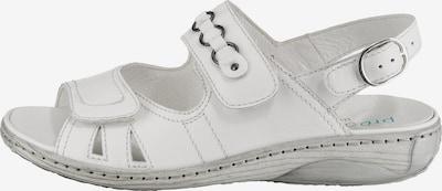 WALDLÄUFER Sandalen 'Garda' in weiß, Produktansicht