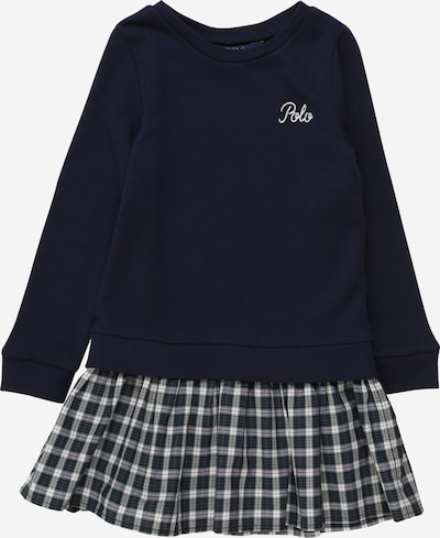 POLO RALPH LAUREN Kleid in navy / weiß, Produktansicht