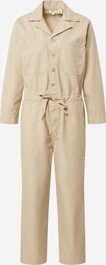 LEVI'S Jumpsuit 'Utility' in beige, Produktansicht