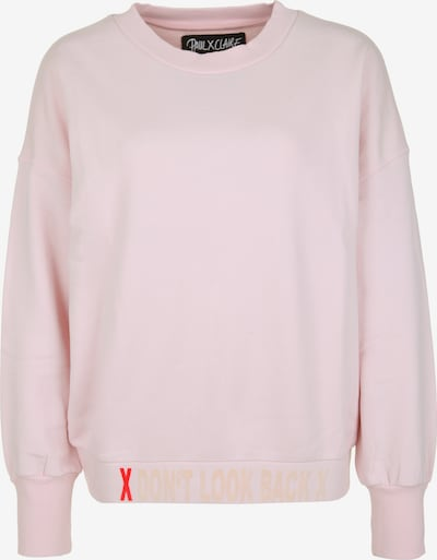 PAUL X CLAIRE Sweatshirt 'DON'T LOOK BACK' in lila, Produktansicht