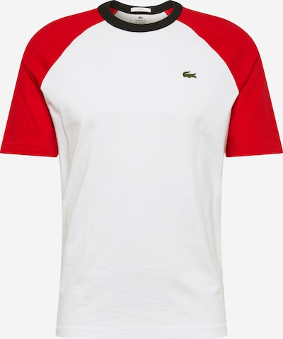 Lacoste LIVE Shirt in de kleur Rood / Wit, Productweergave