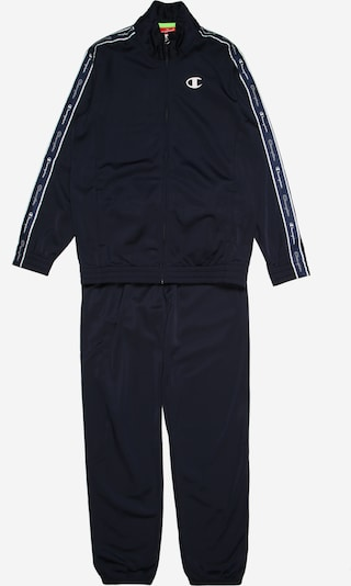 Champion Authentic Athletic Apparel Survêtement 'Full Zip Suit' en bleu marine, Vue avec produit