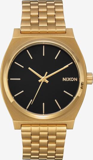 Nixon Uhr in gold / schwarz, Produktansicht
