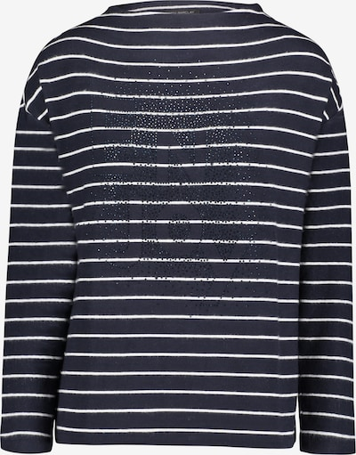 Betty Barclay Sweatshirt in blau / weiß, Produktansicht
