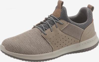 SKECHERS Sneaker 'Deslon-Camben' in hellbeige / taupe / silbergrau, Produktansicht