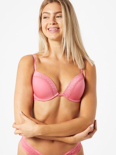 Calvin Klein Underwear Biustonosz 'PUSH UP PLUNGE' w kolorze różowy pudrowym: Widok z przodu
