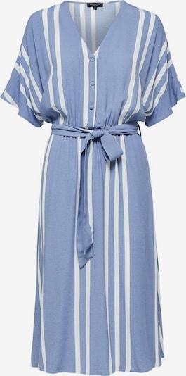 SELECTED FEMME Kleid 'SLFVIENNA' in taubenblau / weiß, Produktansicht