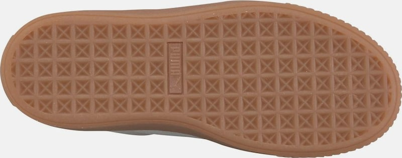 PUMA Plateausneaker »Basket Platform Perforated«
