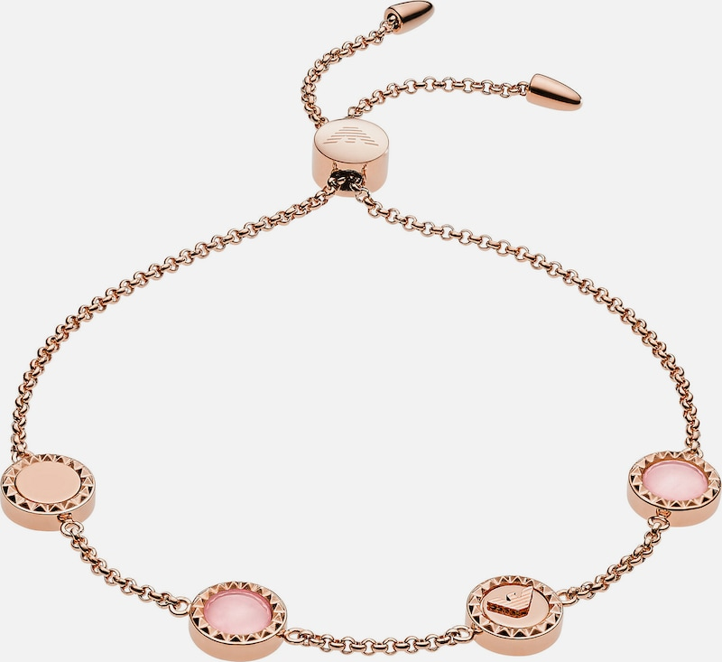 Emporio Armani Armband in rosegold / pink, Produktansicht