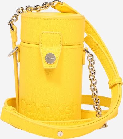 Rankinė su ilgu dirželiu 'DRUM CYLINDER' iš Calvin Klein , spalva - geltona, Prekių apžvalga