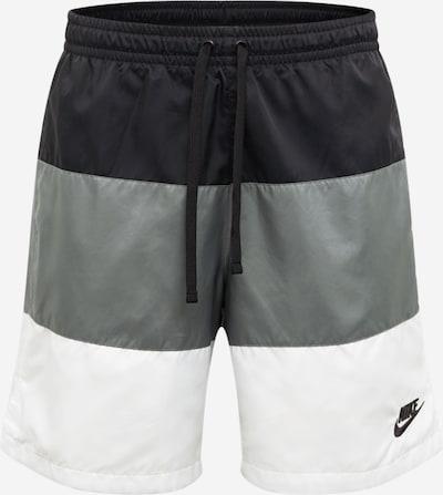 szürke / fekete / fehér Nike Sportswear Nadrág 'City Edition', Termék nézet