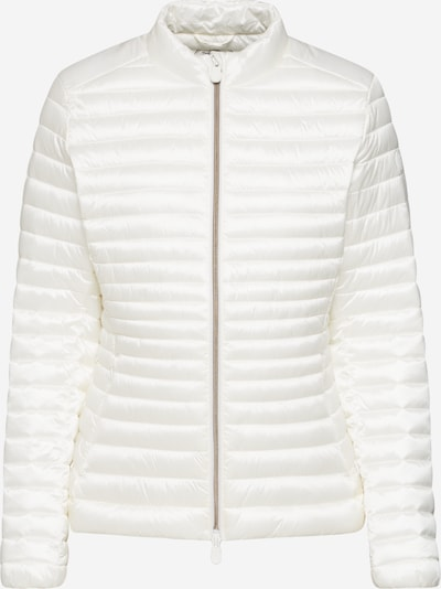 SAVE THE DUCK Jacke 'GIUBBOTTO' in offwhite: Frontalansicht