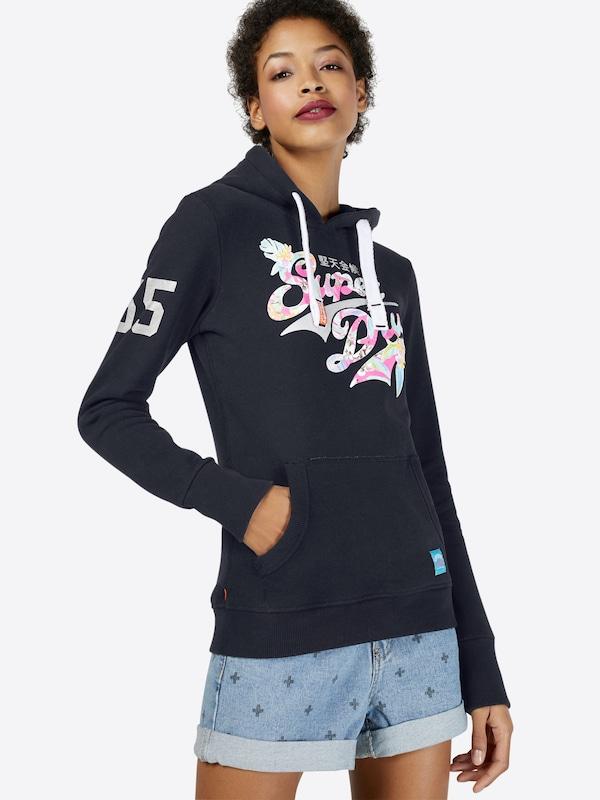 Superdry Sweatshirt 'STACKER TROPICAL ENTRY'