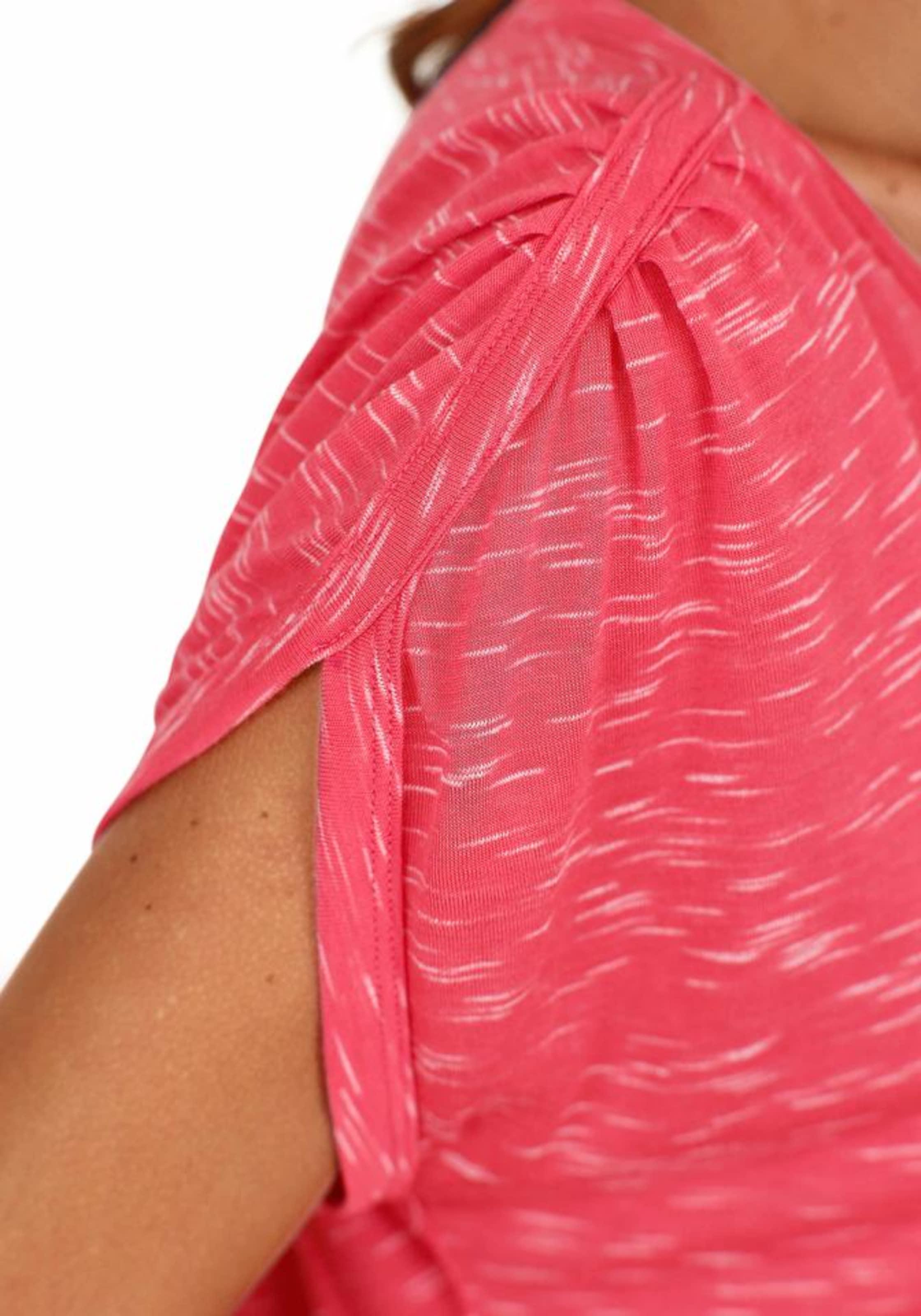 LASCANA Póló kék melír / piros mix színben