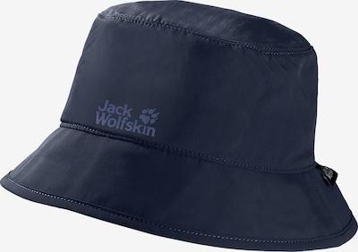 JACK WOLFSKIN Fischerhut in blau / dunkelbraun, Produktansicht