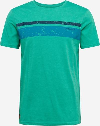 Ragwear Shirt 'HAKE' in blau / navy / jade, Produktansicht