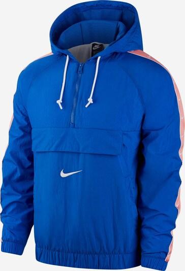 Nike Sportswear Windbreaker in blau / koralle / weiß, Produktansicht